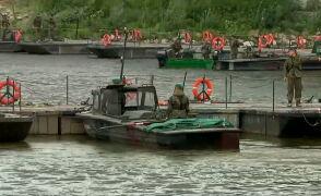 Most pontonowy w Warszawie ma być gotowy we wtorek