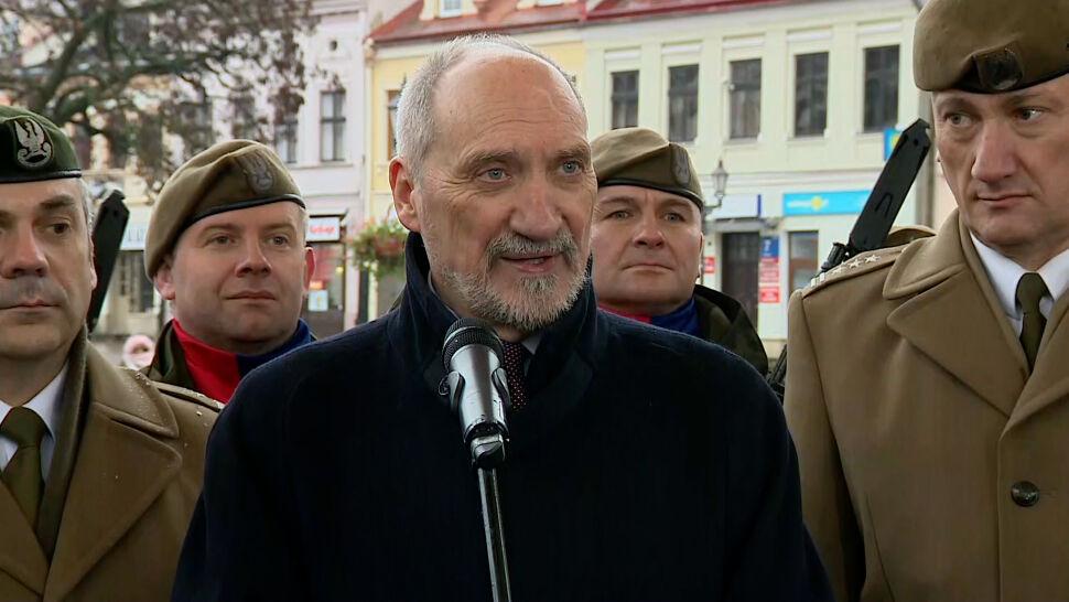 """Macierewicz zapowiadał polsko-ukraińskie śmigłowce. """"Nie było i nie ma żadnych prac"""""""
