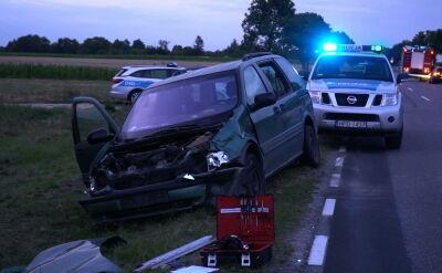 Tragedia w Horodyszczach. Auto prowadził 14-latek, nie żyje jego rówieśniczka