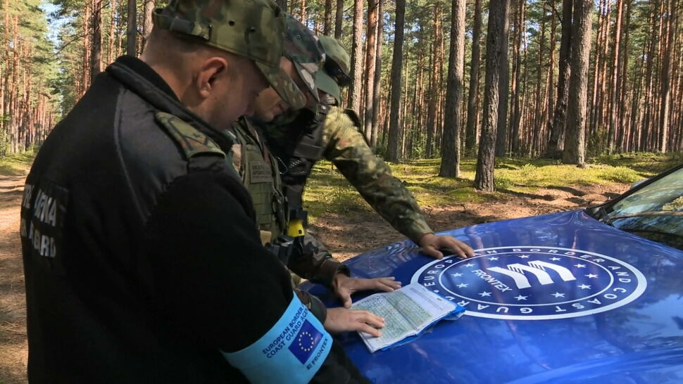 Polska nie poprosiła o pomoc ze strony Frontexu. Na obszarach granicznych byli przedstawiciele RPO