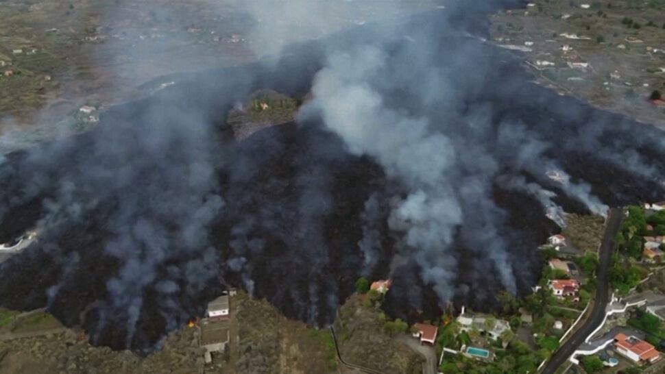 Lawa wciąż wydobywa się z wulkanu Cumbre Vieja. Zarządzono ewakuację kolejnych miast
