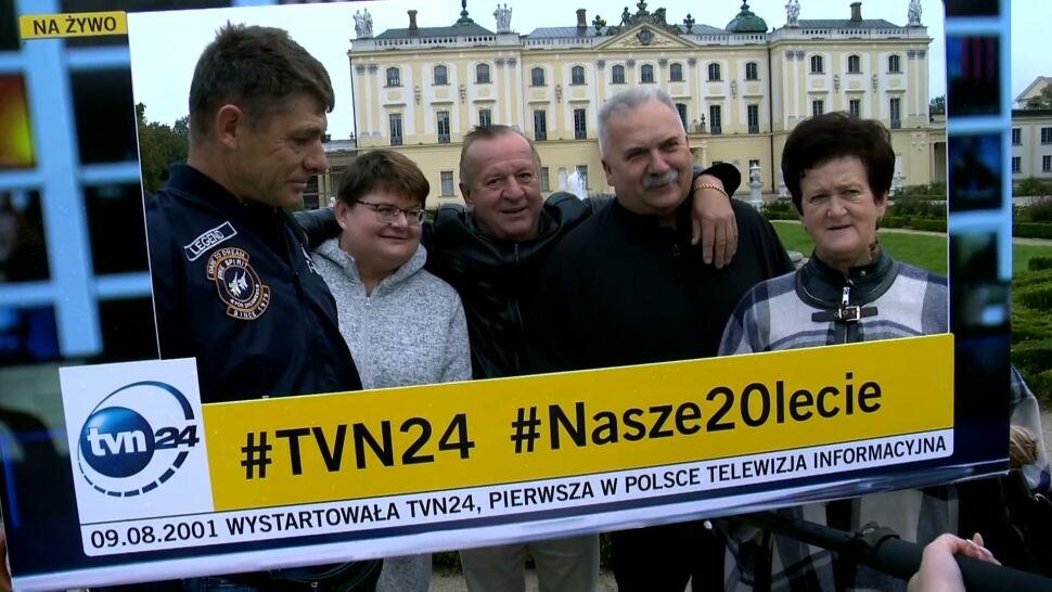 """""""Wiadomości rzetelne przede wszystkim"""". Urodzinowa ramka TVN24 stanęła w Białymstoku"""