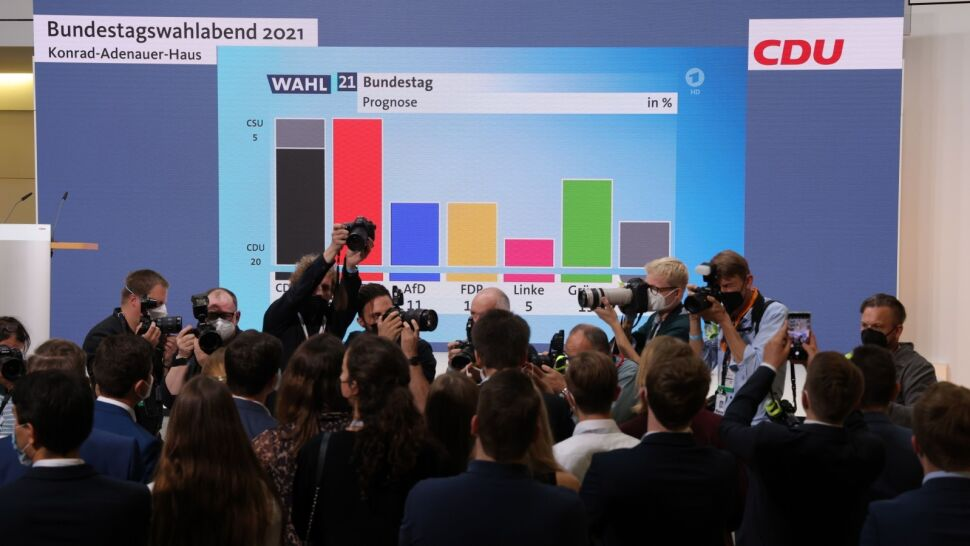 Remis w wyborach do Bundestagu