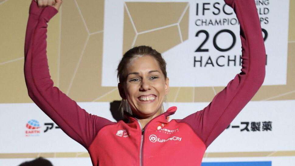 Polka obroniła w Japonii tytuł mistrza świata we wspinaczce sportowej