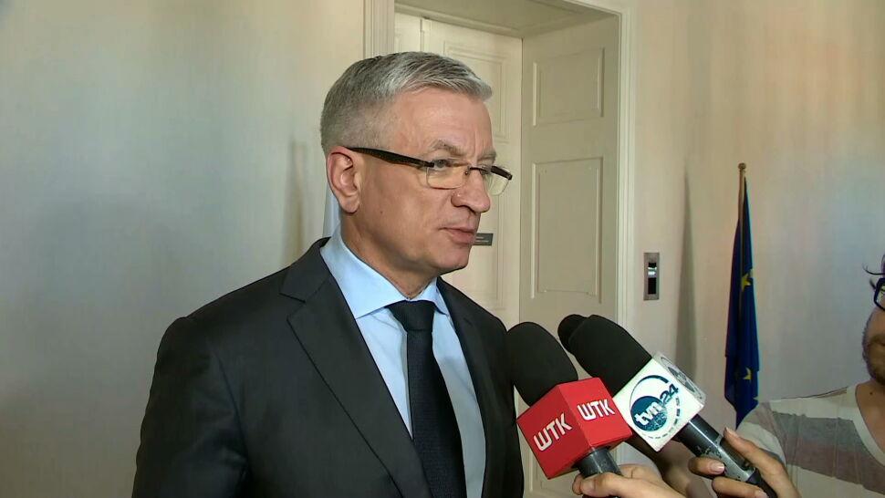 """Groźby pod adresem prezydenta Poznania. """"Stosuję się do zaleceń policji"""""""