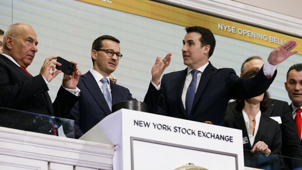 Premier Morawiecki na Wall Street. Zachęca do inwestowania w Polsce
