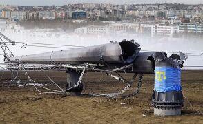22.11.2015 | Stan wyjątkowy na Krymie. Wysadzono w powietrze słupy energetyczne