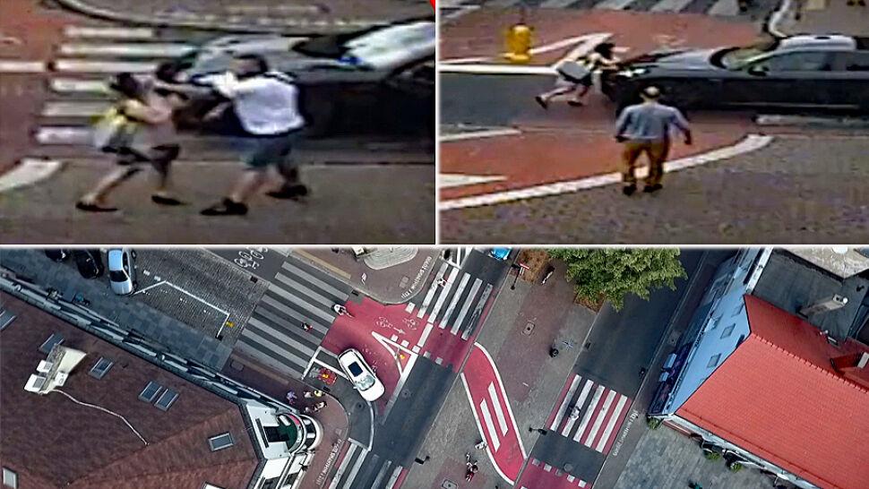 Stanął na pasach, wysiadł z auta i zaatakował pieszą. Policja wnioskuje do prokuratury