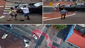 Stanął na pasach, wysiadł z auta i zaatakował pieszą. Policja wnioskuje do prokuratury (wideo archiwalne)