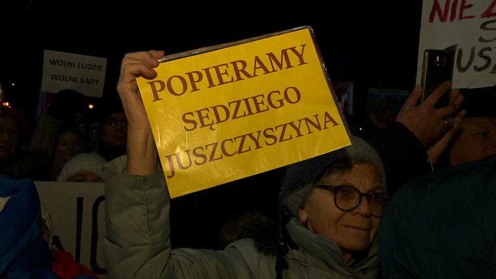 Sędziowie z Olsztyna chcą natychmiastowego przywrócenia Pawła Juszczyszyna