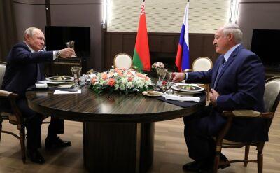 """Spotkanie Putin-Łukaszenka. """"Chcemy tylko równego traktowania"""""""