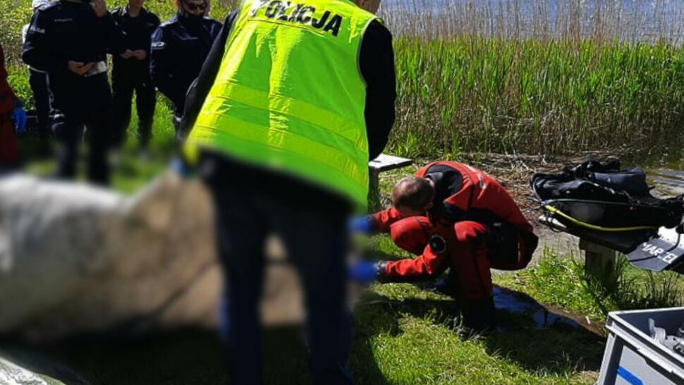 W Jeziorze Dywickim znaleziono ludzkie zwłoki. To może być Joanna Gibner