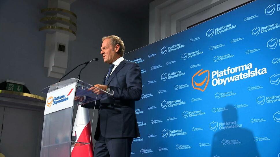 Pytania o współpracę opozycji po powrocie Donalda Tuska