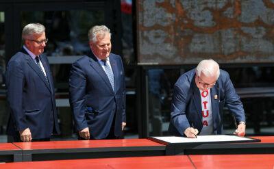 Wielkie obchody 4 czerwca w Gdańsku. Deklaracja Wolności i Solidarności podpisana
