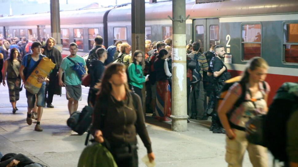 Nie będzie dodatkowych pociągów dla Pol'and'Rock Festival. Przewoźnik: przynosiły straty