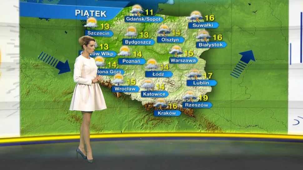 Prognoza pogody na piątek 1 maja