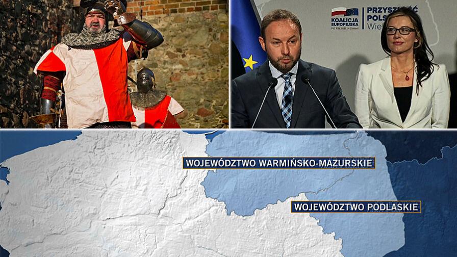Dwa województwa, jeden okręg. Zaciekły bój przed eurowyborami
