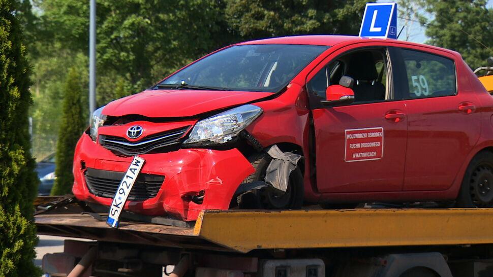 Wypadek na placu manewrowym. 68-letnia kursantka śmiertelnie potrąciła egzaminatora