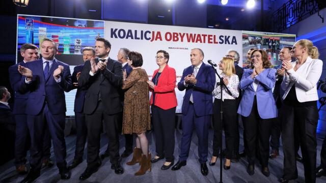 """14.10.2019   Powyborcze rozliczenia w Koalicji Obywatelskiej? """"W styczniu może być ciekawie"""""""