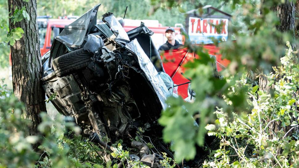 Tragiczny wypadek koło Strzelna. Zginęły 4 osoby