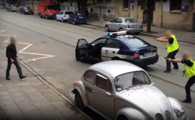 14.07.2014 | Gorzów Wielkopolski: obława policji na niebezpiecznego mężczyznę
