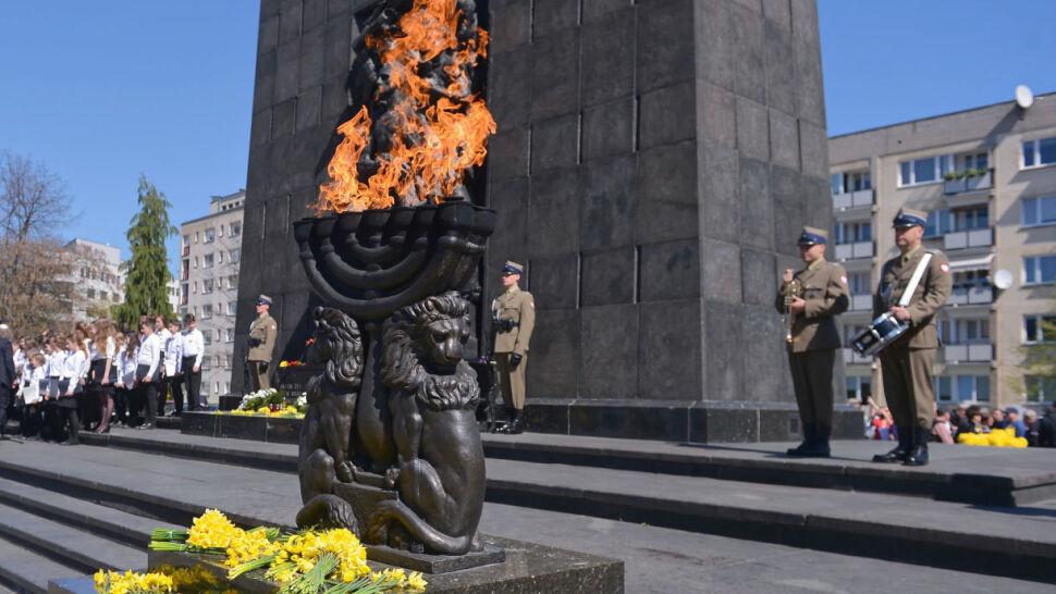 W stolicy zawyły syreny ku pamięci powstańców getta