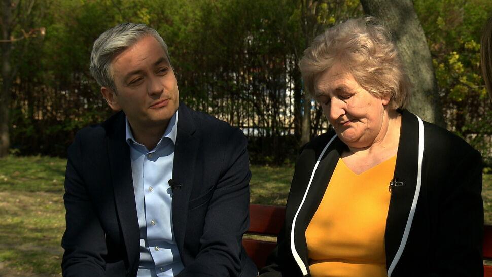 Historia z przeszłości wróciła w czasie kampanii. Robert Biedroń i jego mama opowiadają o przemocy w domu