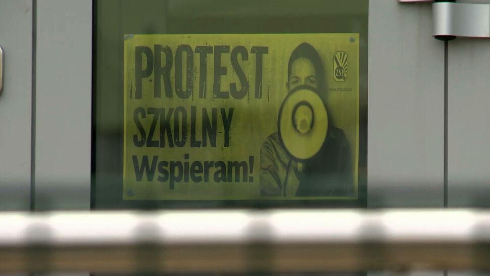 Strajk nauczycieli trwa. Kolejny protest zapowiadają lekarze