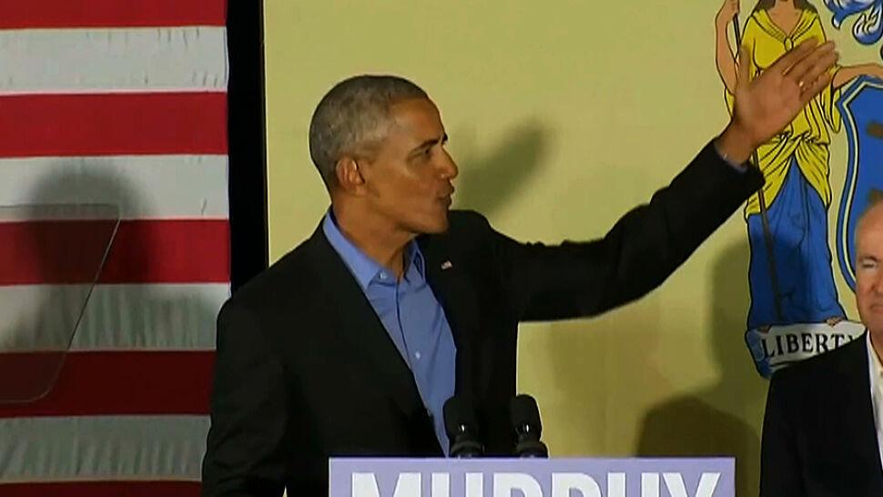 Barack Obama i George W. Bush po raz pierwszy od dawna przemówili publicznie