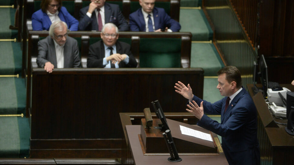 Senat przyjął bez poprawek ustawę degradacyjną