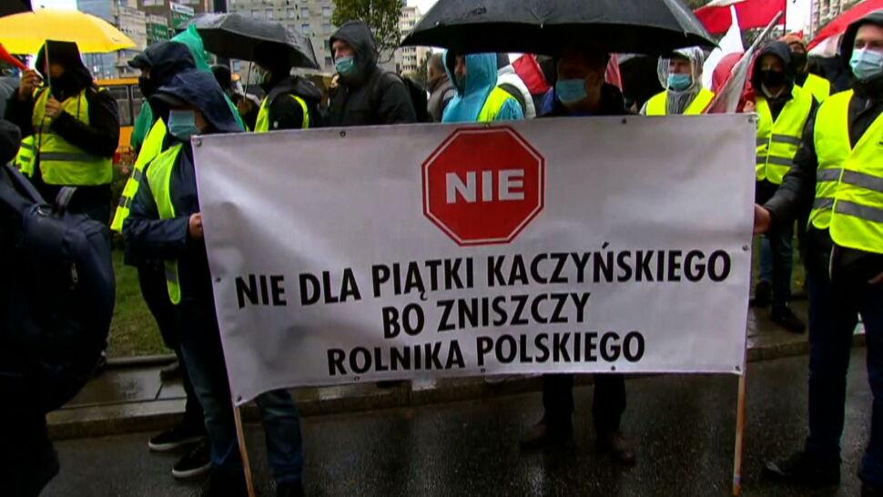 """Dziś Warszawa, w przyszłym tygodniu cały kraj? """"Rolnicy są tutaj, bo nikt z nimi nie rozmawia"""""""