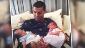 """Cristiano Ronaldo został tatą bliźniaków. """"Nowe miłości mojego życia"""""""