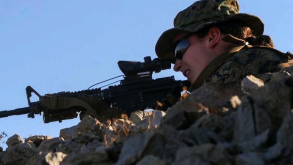 Pierwszego dnia rezygnuje 10 procent marines, ona wytrzymała