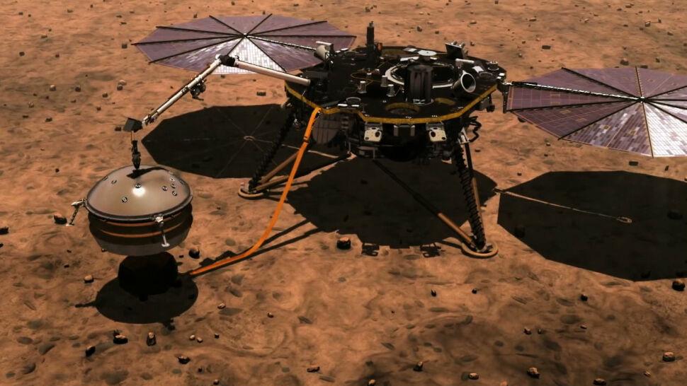 Kret na Marsie. Sonda InSight ma zbadać wnętrze Czerwonej Planety