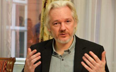 Julian Assange w ambasadzie Ekwadoru