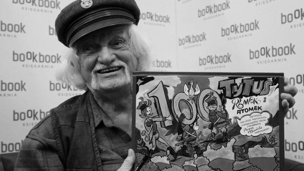 Nie żyje Papcio Chmiel. Twórca komiksów o Tytusie, Romku i A'Tomku miał 97 lat