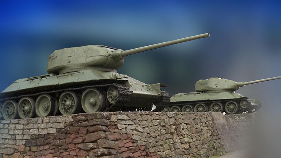 Radzieckie czołgi na cokołach mają zniknąć z Polski. Niektórym jednak ich szkoda