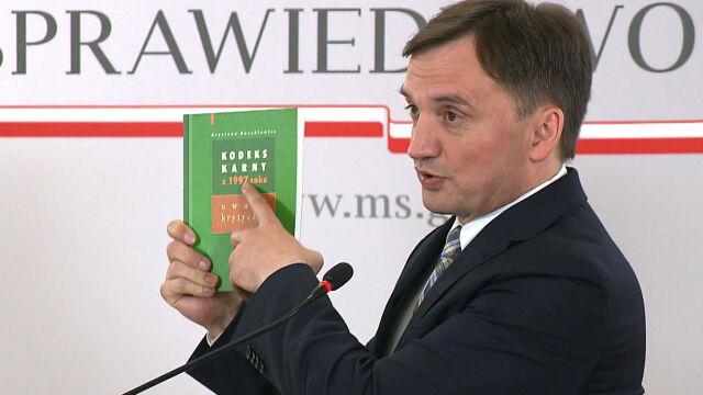 Premier: dymisja Piebiaka kończy sprawę. Opozycja żąda konsekwencji dla Ziobry