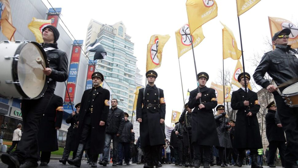 Radykalni nacjonaliści manifestują w Rosji