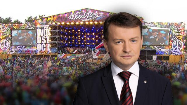 """Minister Błaszczak negatywnie o Woodstocku. """"Organizator związany z totalną opozycją"""""""