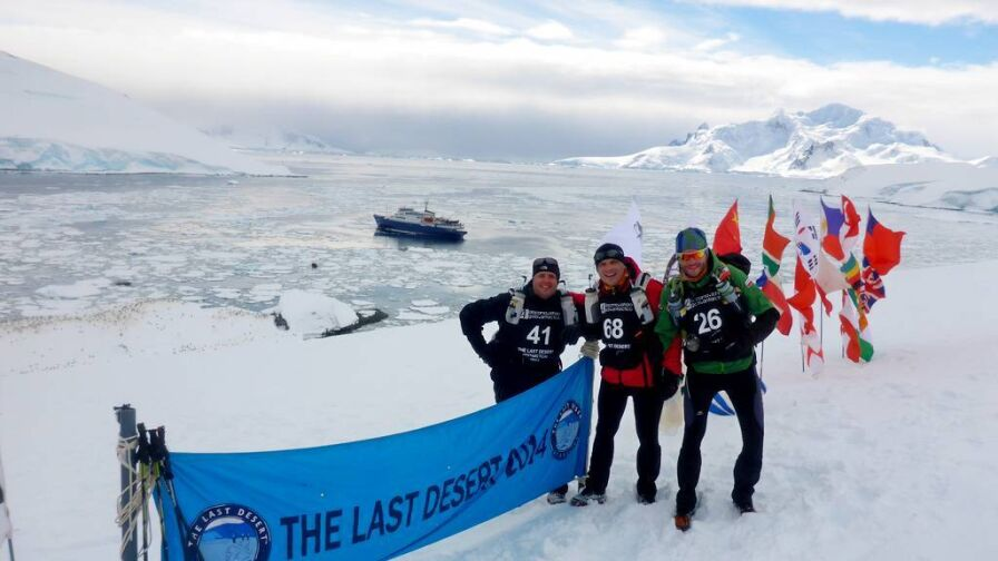 Polacy w gronie ekstremalnych ultramaratończyków. Przebiegli nawet Antarktydę