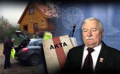 18.02.2016 | Tajemnice akt z domu generała Kiszczaka. IPN: dokumenty są autentyczne. Wałęsa zaprzecza