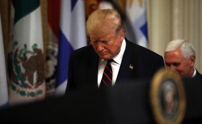 Trump: mam prawo stanąć twarzą w twarz ze swoim oskarżycielem