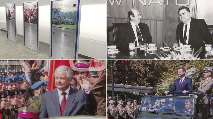 """Historia Polski w NATO według PiS bez Geremka, Kwaśniewskiego czy Nowaka-Jeziorańskiego. Rzecznik PiS """"nie czepiałby się niuansów"""""""