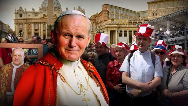 26.04.2014 | Rzym pełen pielgrzymów. Papież przyjął oficjalną delegację polskich władz