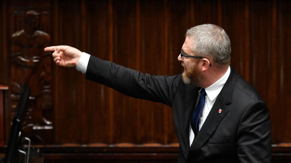 """""""Będziesz wisiał"""" do ministra. Będzie wniosek do prokuratury w sprawie słów Grzegorza Brauna"""