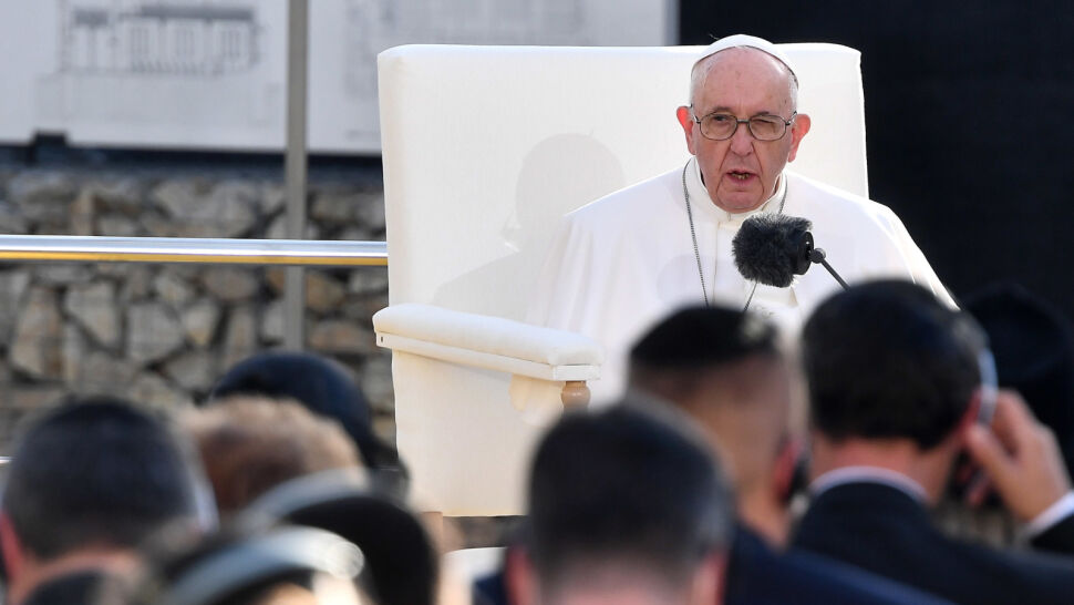 Papież Franciszek z wizytą na Słowacji