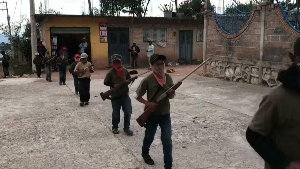 """Żyją w strachu, uzbroili nawet dzieci. """"Będziemy bronić naszych rodzin"""""""