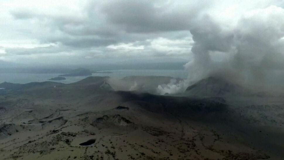 Przebudził się wulkan Taal. Erupcja może nastąpić w każdej chwili