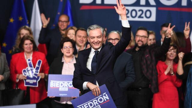 19.01.2020 | Robert Biedroń zaczął walkę o prezydenturę